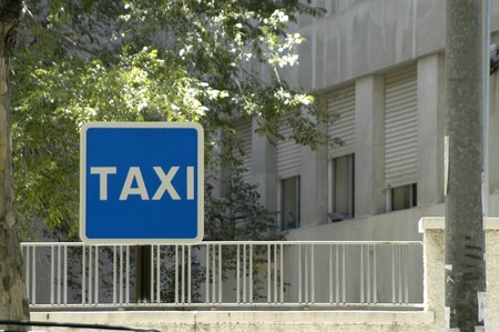 Taxi stop Stock Photo - 4048823