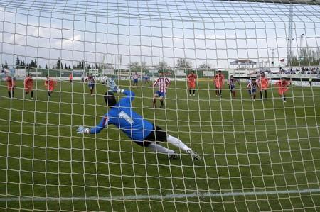 outside shooting: Soccer Goalkeeper