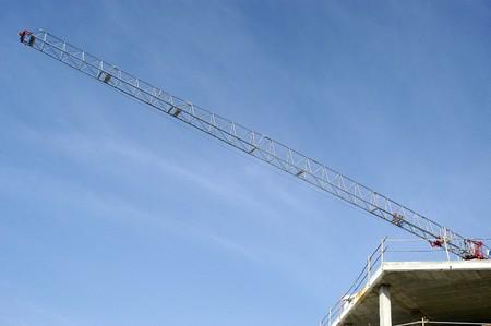 hoists: Crane hoists in construction