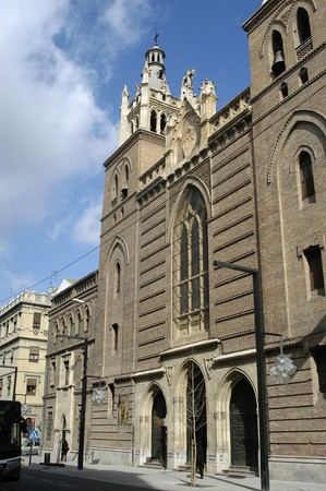 andalucia: CHURCH OF THE SACRED HEART IN THE STREETS OF GREAT WAY GRANADA