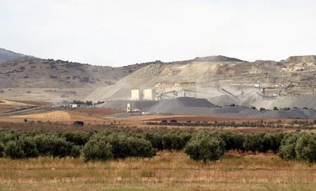 degradation: Sand quarry