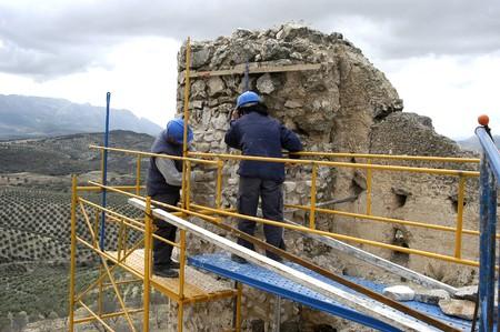 building external: Restoration of the Arab citadel of P��ar