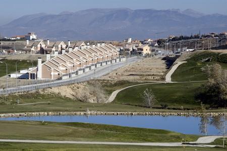 Urbanization in Granada Stock Photo