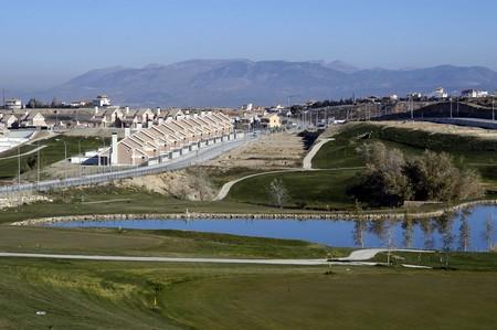 panoramics: Urbanization in Granada Stock Photo