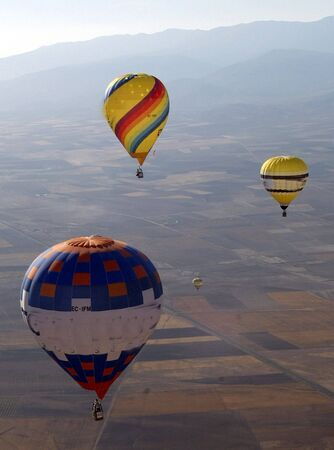 Spanish championship balloons photo