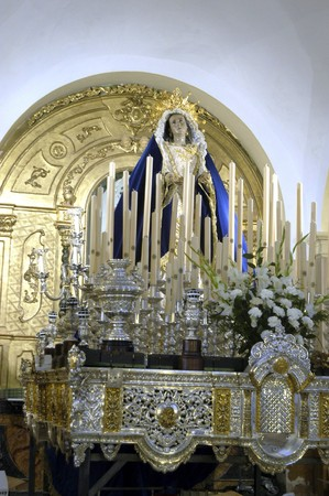 processions: Religious images in the town of Baza