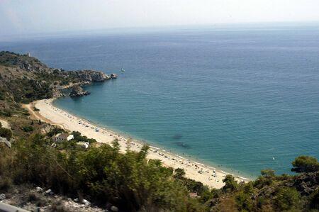 CANTARRIJANA nudist beach, in the town of Almuñecar (Granada