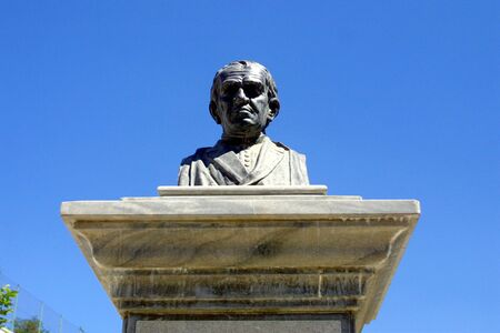 busts: BUST OF ANDRES MANJON Stock Photo