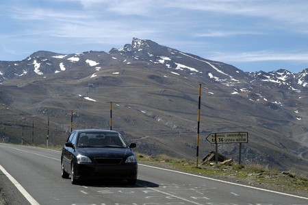 PEAK VELETA OF VIEW IN THE SIERRA NEVADA (GRANADA) photo