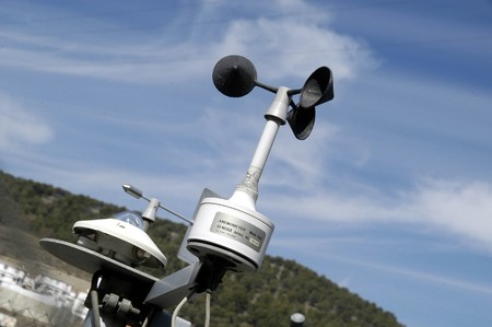WEATHER STATION ON THE ROAD OF SIERRA NEVADA