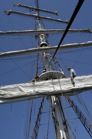 Sailing boat tripS, EN M�LAGA 1-8-2004 FOTO: PACO AYALA photo