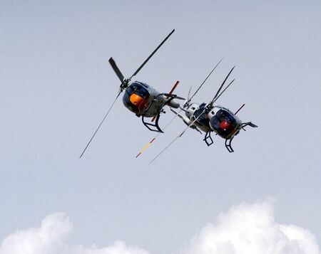 PATROL Acrobat army helicopters AIR OF SPAIN photo