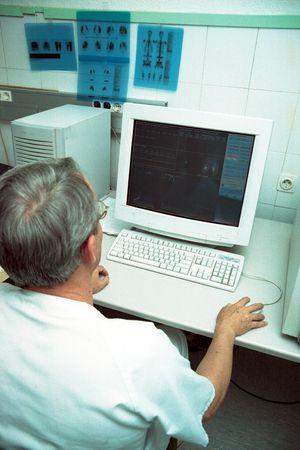 Nuclear Medicine Department at a hospital in Granada photo