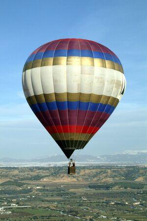 Balloons in Guadix (Granada) Stock Photo - 5097748