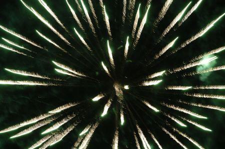 Spectacular fireworks photo