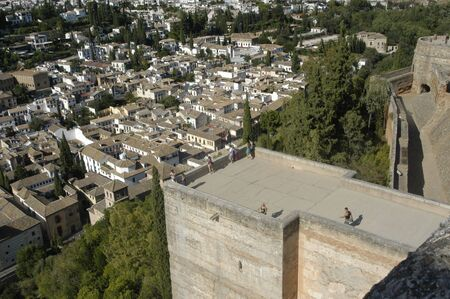View of the city of Granada and the Alhambra in Granada  Stock Photo - 5393424
