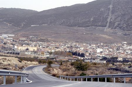 motril: Padul road link with the motorway to Motril