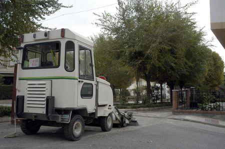 A street sweeper Padul photo