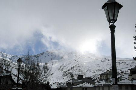 View of Sierra Nevada photo