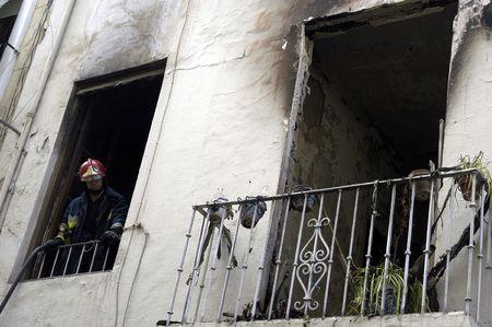 butane: Explosi�n de gas butano con fuego en San Isidro de Granada