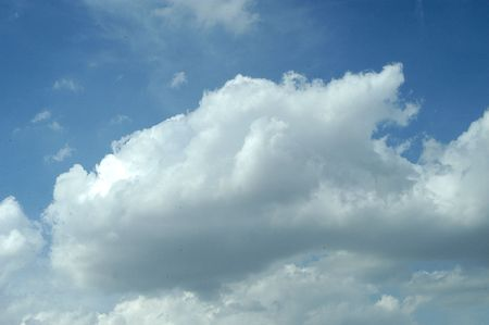 Clouds over blue sky with calm weather Stock Photo - 6058786