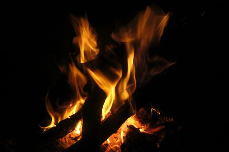 imaginor: Texture and depth of fire with fire