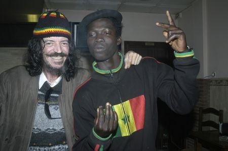 Interracial friendship Stock Photo - 6059355