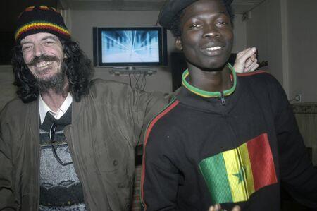 Interracial friendship Stock Photo - 6059343