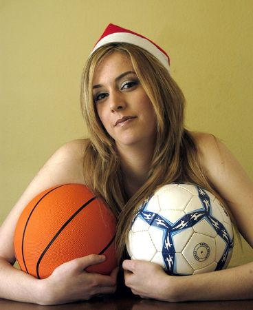 18 to 30s: Pretty young woman with balls