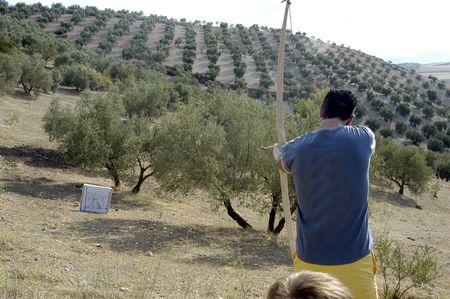Archery championship prehistoric Stock Photo - 6232836