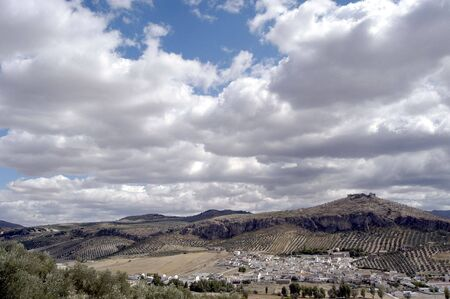 Overview P��ar municipality in the province of Granada photo