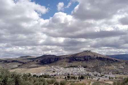 Overview Píñar municipality in the province of Granada photo