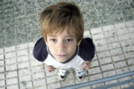 temperance: boy smiling