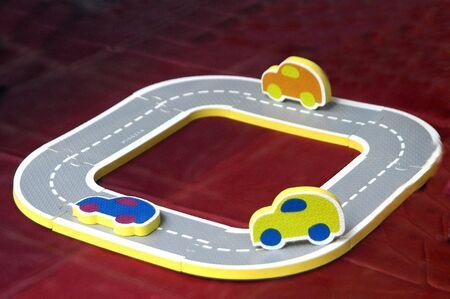 Circuito Concept Car Foto de archivo