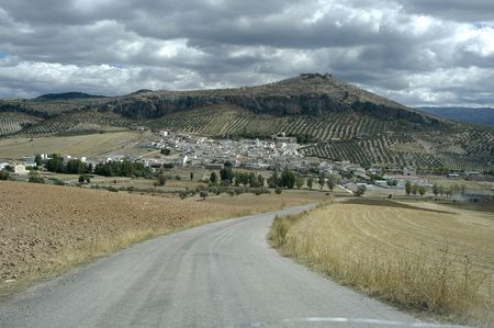 View of the town of Pi�ar in the province of Granada photo