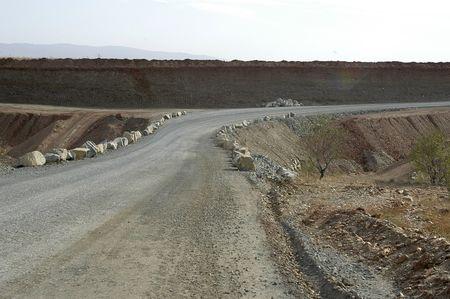 Sandy road photo