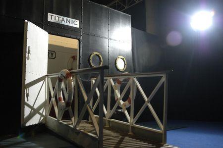 titanic: Exhibition on the sinking of the Titanic