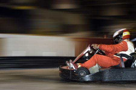 Karting Foto de archivo