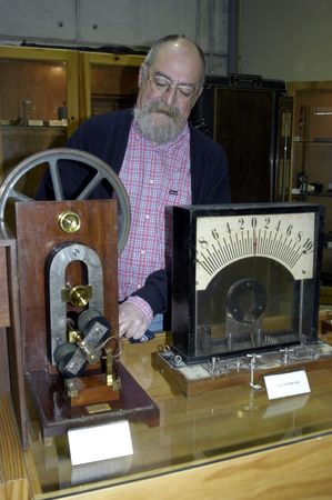 galvanometer: museum of natural sciences in the secondary school of the father suarez de granada, 2732007