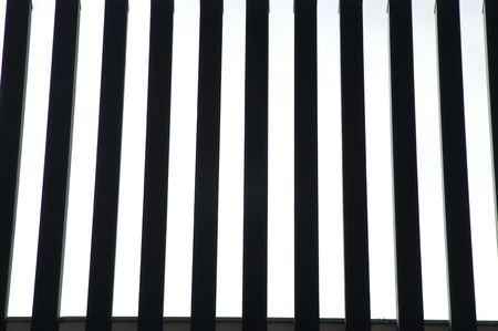 parallelism: Iron bars Fund Stock Photo