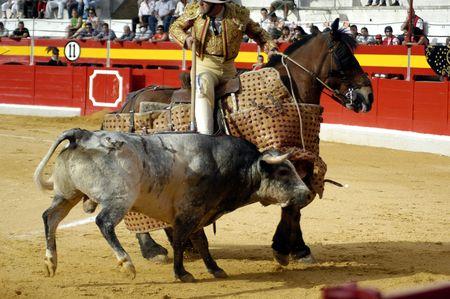 matadors: Chopper bullfight held in Granada on 3 June 2007, at Feria de Corpus