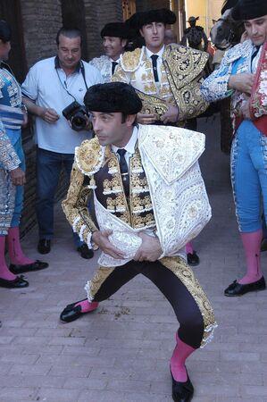 coping: the bullfighter enrique ponce in the bullfight held in granada on 7 june 2007, at feria de corpus Editorial