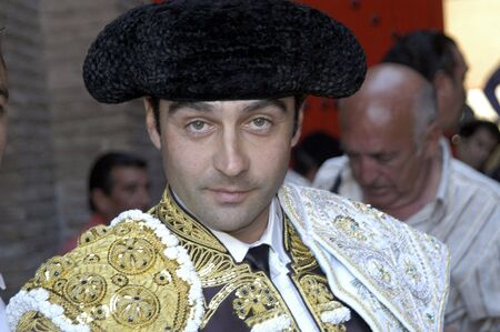 The bullfighter Enrique Ponce in the bullfight held in Granada on 7 June 2007, at Feria de Corpus