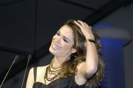 the actress and presenter mar saura at the partys 75th anniversary of the brotherhood pharmaceutical granada, granada, on june 6, 2007
