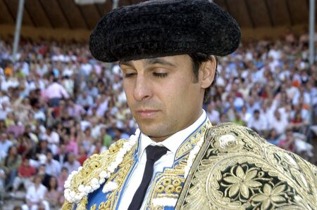 matadors: the bullfighter fran rivera in the bullfight held in granada on 6 june 2007, at feria de corpus