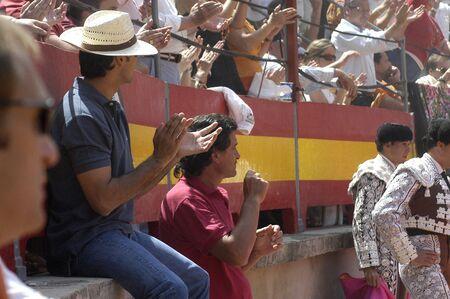 coping: the bullfighter fran rivera in the bullfight held in granada on 6 june 2007, at feria de corpus
