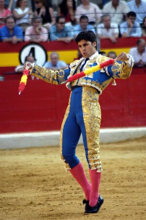 bullfighters: The bullfighter Fran Rivera in the bullfight held in Granada on 6 June 2007, at Feria de Corpus