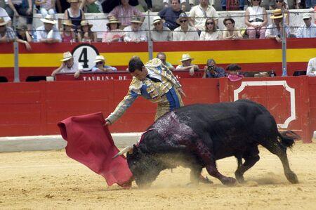 The bullfighter Jose Maria Manzanares in the bullfight held in Granada on 6 June 2007, at Feria de Corpus Stock Photo - 6891329