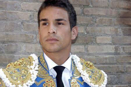matadors: The bullfighter Jose Maria Manzanares in the bullfight held in Granada on 6 June 2007, at Feria de Corpus Editorial