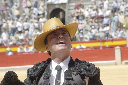 cano: the bullfighter jos� ortega cano in the bullfight held in granada on 7 june 2007, at feria de corpus